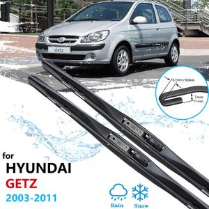 for Hyundai Getz 2003 2004 2005 2006 2007 2008 2009 2010 2011 2012 2013 Car Wiper Blade Front Windshield Wipers Car Accessories