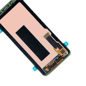 Image 5 - Para SAMSUNG Galaxy J8 J810 J810F pantalla LCD AMOLED pantalla + Panel táctil digitalizador montaje para SAMSUNG pantalla Original