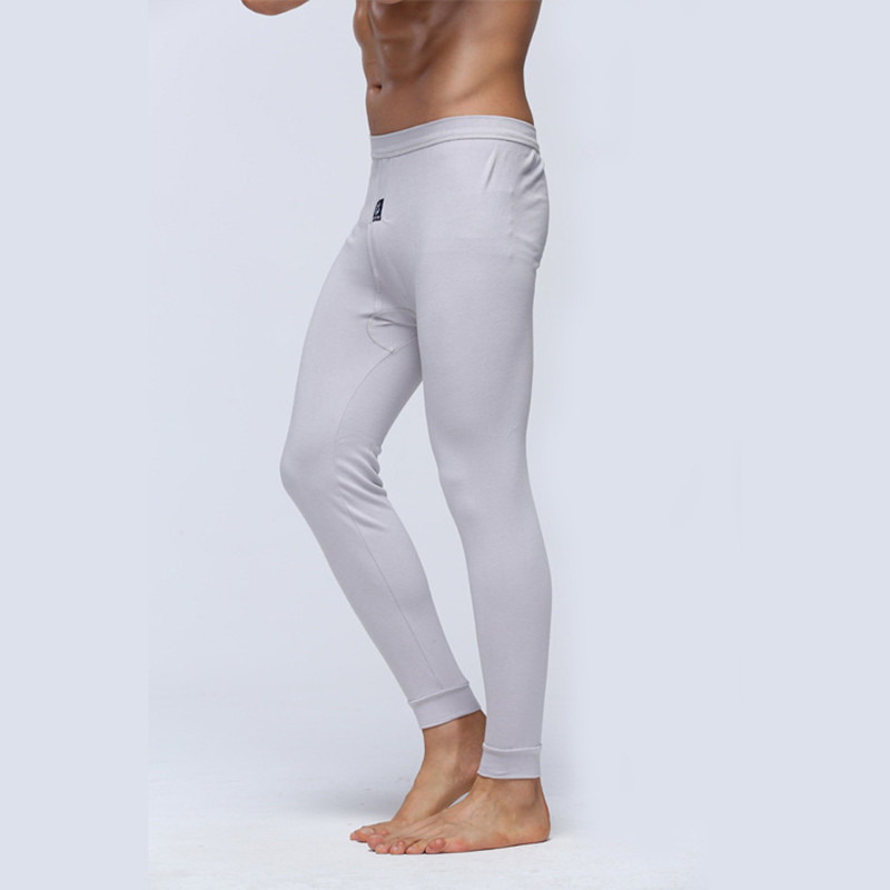 Hot 2019 Autumn Winter Solid Thin Thermal Pants Winter Warm Soft Slim Leggings Elderly Knitted Casual Thermal Underwear