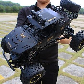 XYCQ RC автомобиль 4WD 2,4 GHz альпинистский автомобиль 4x4 двойной двигатель Bigfoot автомобиль с дистанционным управлением модель внедорожного транс...