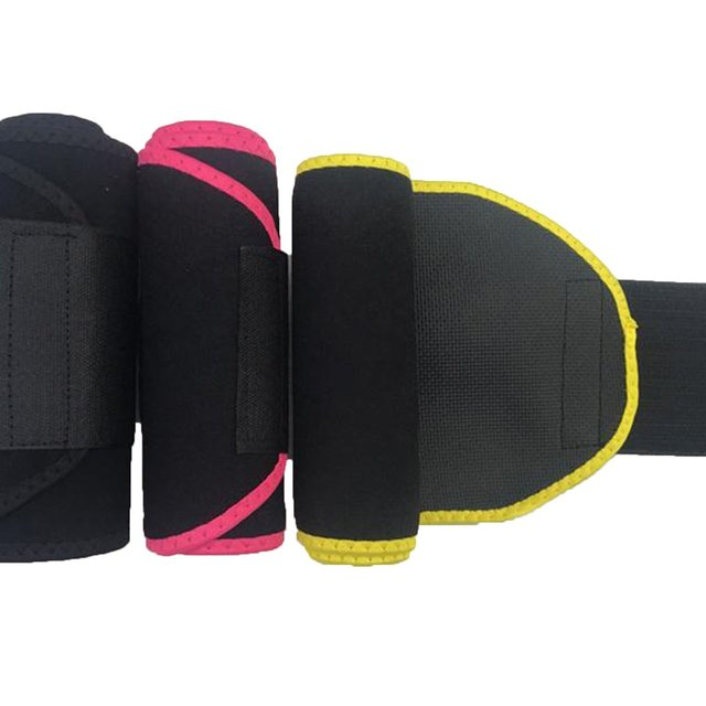 Adjustable Waist Trimmer Belt Wrap Tummy Stomach Weight Loss Fat Slimming Exercise Belly Body Beauty Waist Support 2