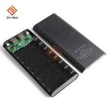 5V Dual USB 8*18650 Power Bank โทรศัพท์มือถือ DIY Shell 18650แบตเตอรี่ผู้ถือกล่อง