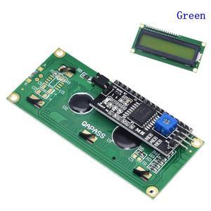 Image 3 - LCDโมดูลหน้าจอสีเขียวIIC/I2C 1602สำหรับArduino 1602 LCD UNO R3 Mega2560 LCD1602