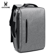 Multi-functional Triple Use Backpack Mens Casual Computer Bag Large Capacity Travel