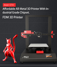 Anet 3D Printer ET4 Upgraded Tempered Glass Hotbed Desktop Impresora 3d printer Resume Power Failure Printing DIY KIT filament 2018 anet e2 3d printer kit easy assembly delta impresora 3d reprap i3 diy kit lcd screen 3d printer with 1kg pla abs filament