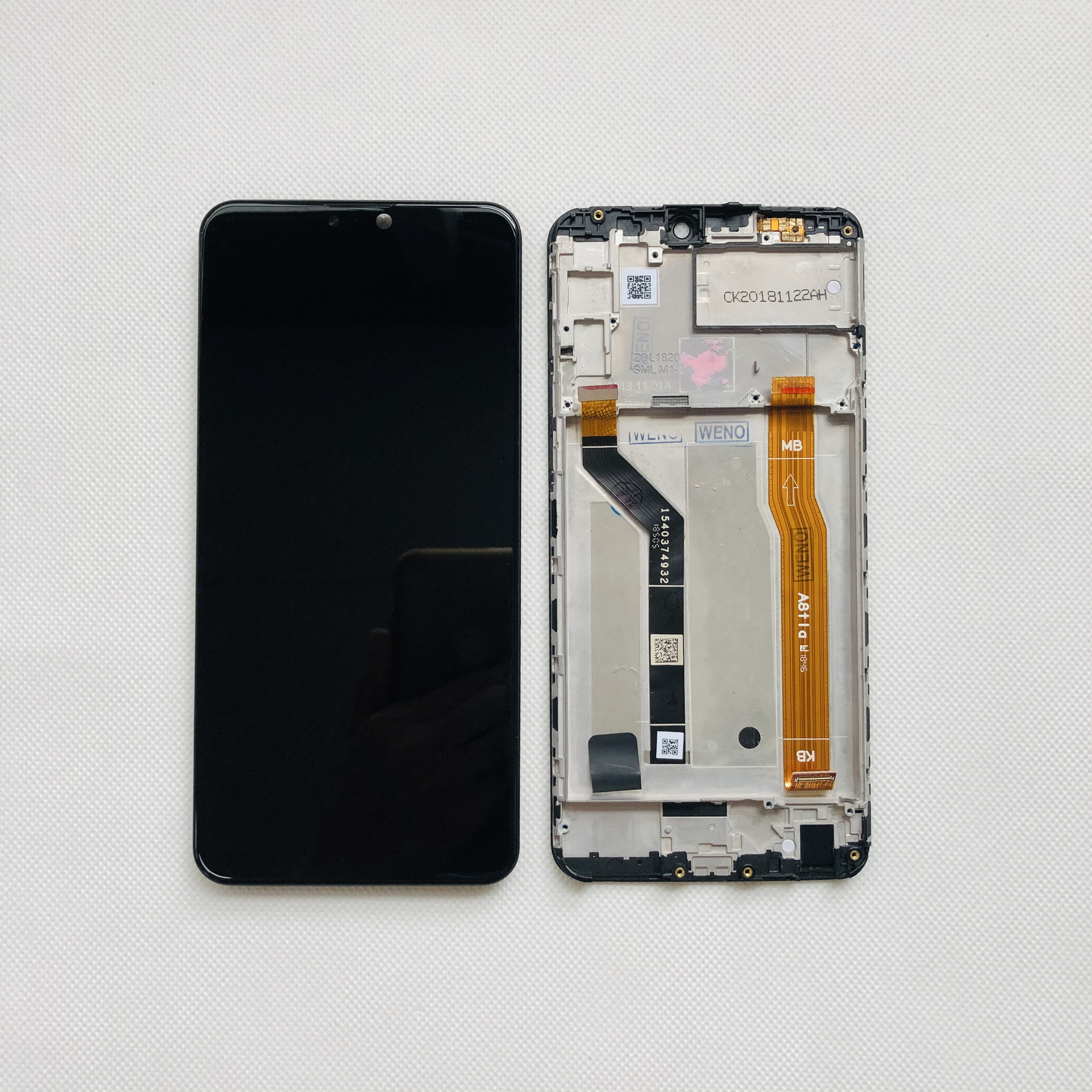 Image 5 - 6.26 AAA Original LCD For Asus Zenfone Max Pro M2 ZB631KL /  ZB630KL LCD Display Touch Screen Digitizer Assembly Parts FrameMobile  Phone LCD Screens
