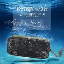 M3 Portable Bluetooth Speaker Wireless Stereo Loudspeaker Sound System Outdoor Waterproof Speaker 10W Music Surround(China)