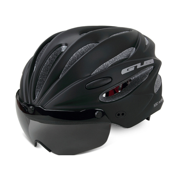 GUB K80 Cycling Helmet with Visor Magnetic Goggles Integrally-molded 58-62cm for Men Women MTB Road Bicycle  Bike Helmet 12