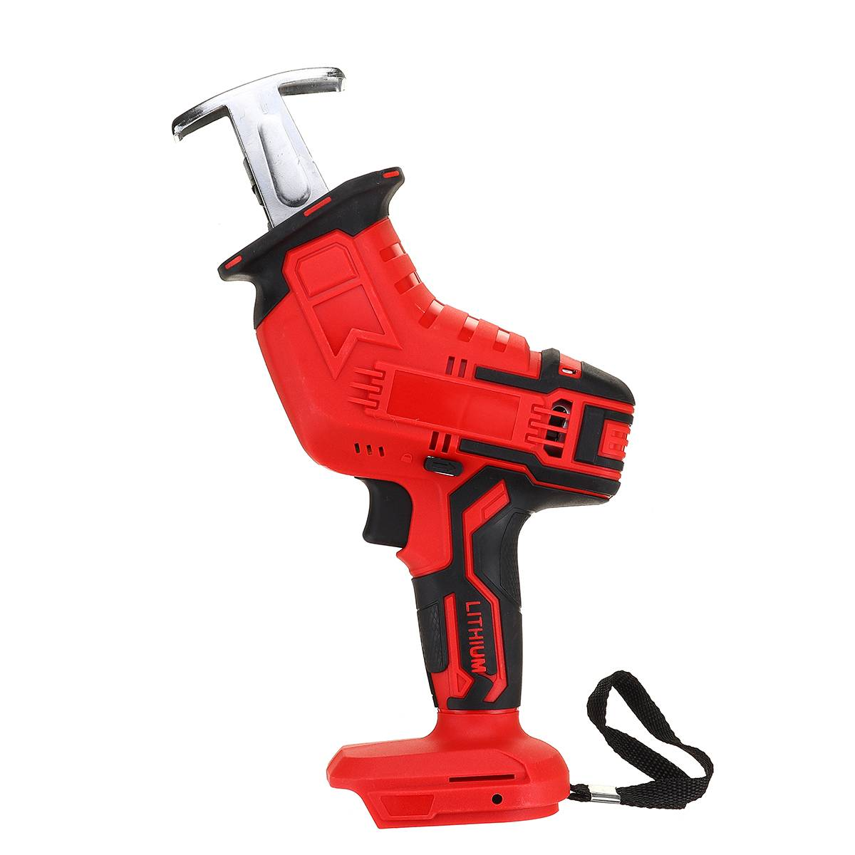 Tools : 18V Cordless Reciprocating Saw Body Adjustable Speed Replacement Mini Electric Saw Woodworking Cutter Tool for Makita Battery