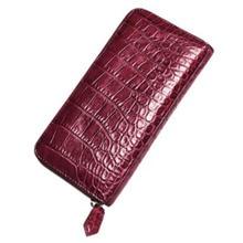 hujingsha new  Alligator leather purse long zipper lady purse clutch clutch clutch bag цена и фото