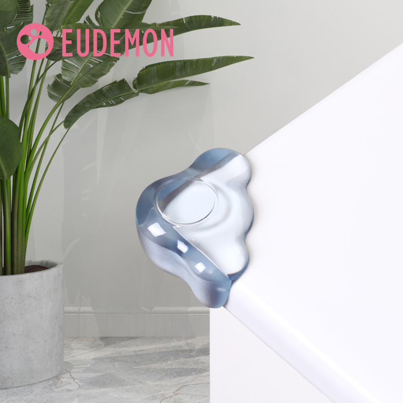 EUDEMON Child Baby Safety Silicone Protector Table Corner Edge Protection Cover Children Anticollision Edge & Corner Guards