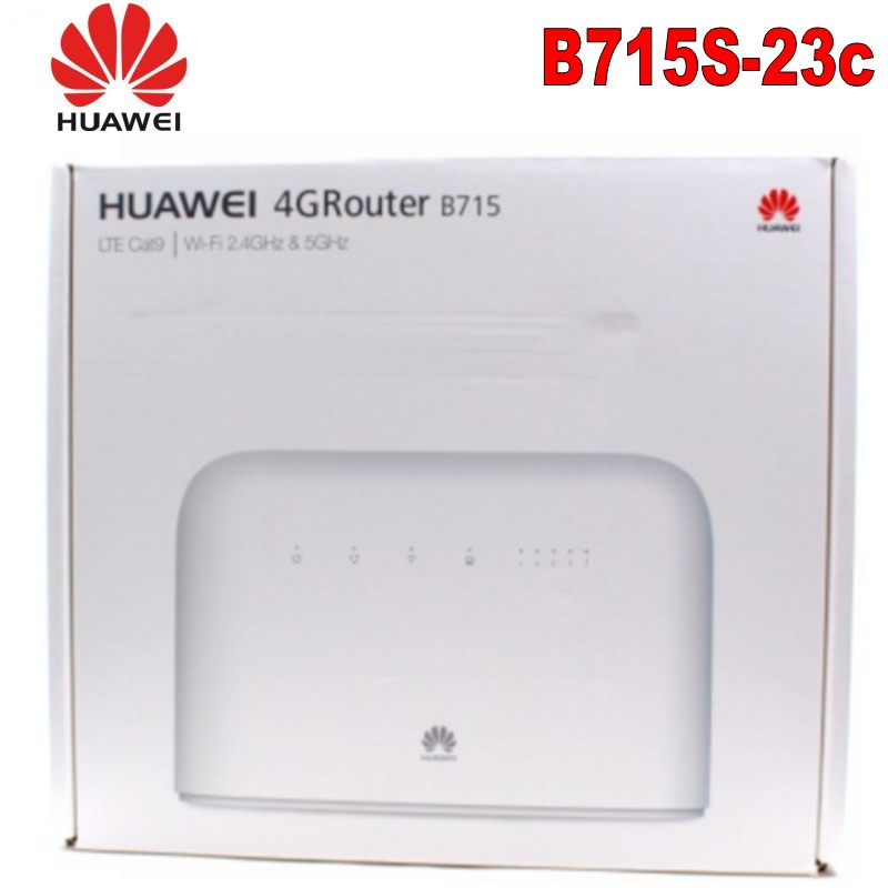 Original Unlocked Huawei B715s-23c 4G LTE Cat9 Band1/3/7/8/20/28/32/38 CPE 4G WiFi Router B715s-23c PK B618 E5788