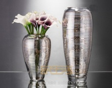 German 22K type classic crystal glass vase Phnom Penh urn flower  hydroponic model crystal glass vase flower industry
