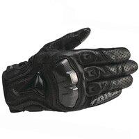 Rs taichi luvas de motocicleta respiráveis  luvas de fibra de carbono para motocicleta  motocross  equitação e cavalgar