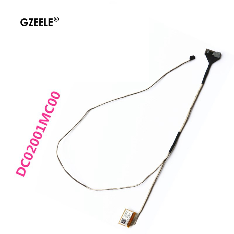 New Video Screen Flex Wire For Lenovo G50-30 G50-45 G50-70 Z50-45 Z50-70 Laptop Lcd Video Cable DC02001MC00 LCD LED LVDS Display