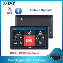 XGODY Android/Wince GPS 7'' Lkw Auto Navigation 1GB + 16GB/256M + 8GB kapazitiven Bildschirm Navigator Kamera Optional 2020 Freies Karte