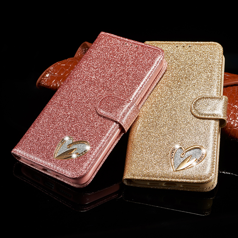Bling Glitter Leather Case for iPhone 11/11 Pro/11 Pro Max 2