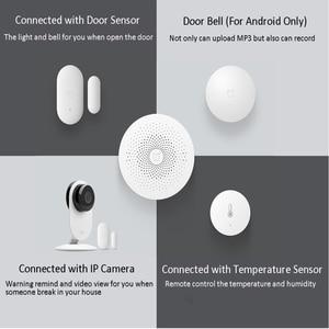 Image 5 - Version mise à jour Xiaomi Mijia passerelle multifonctionnelle 2 Hub système dalarme Intelligent en ligne Radio veilleuse cloche Smart Home Hub