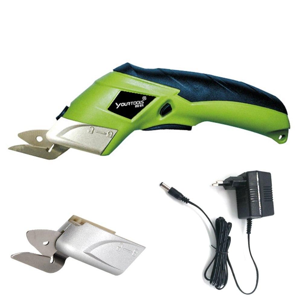 Electric Fabric Scissors Box Cutter Cordless Shears Cutting Tool for Crafts Sewing Cardboard Scrapbooking CS4001 EU Plug|Power Tool Accessories| |  - title=
