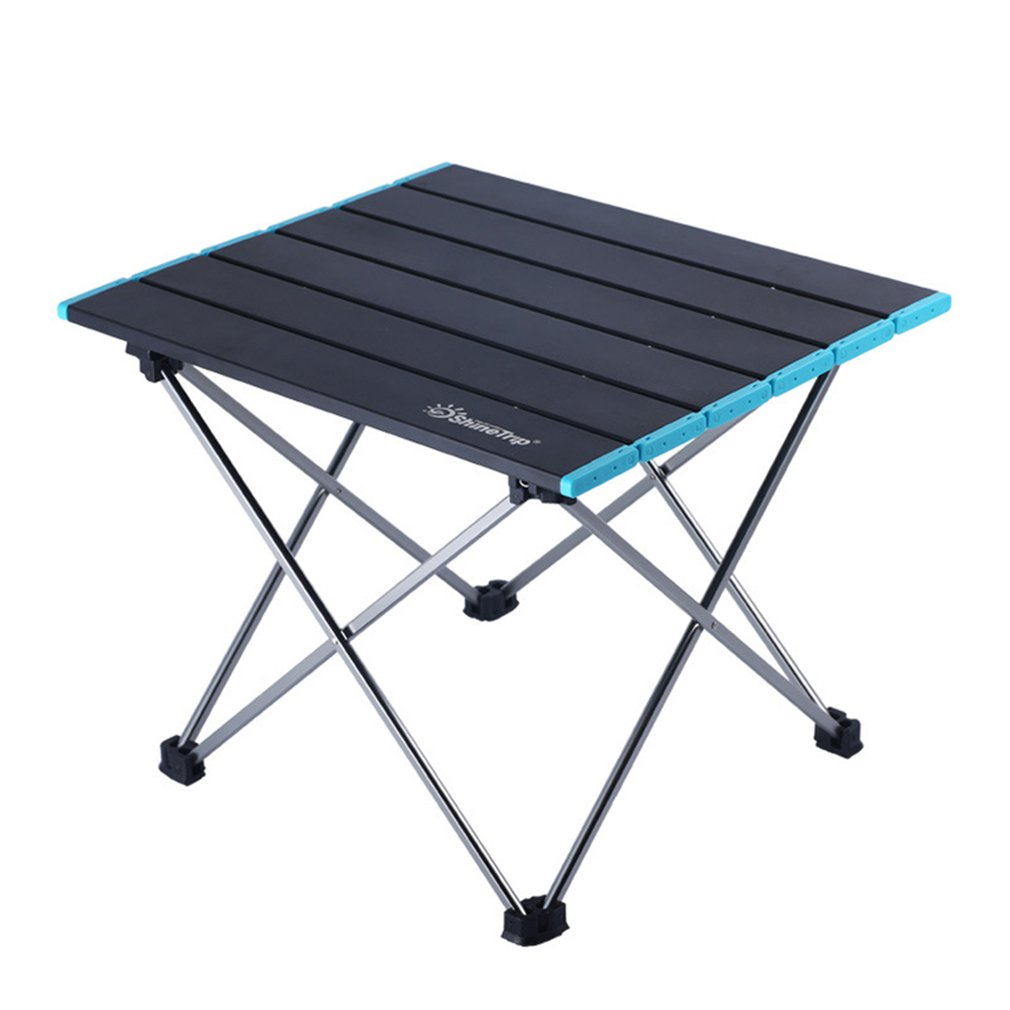 Portable Folding Table Aluminum Alloy Desk Barbecue Camping Leisure Booth Table Mini Outdoor Table