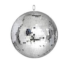Thrisdar Dia25CM 30センチメートルガラスミラーディスコボールホームパーティーktvバーショップホリデークリスマス反射ディスコボールライト