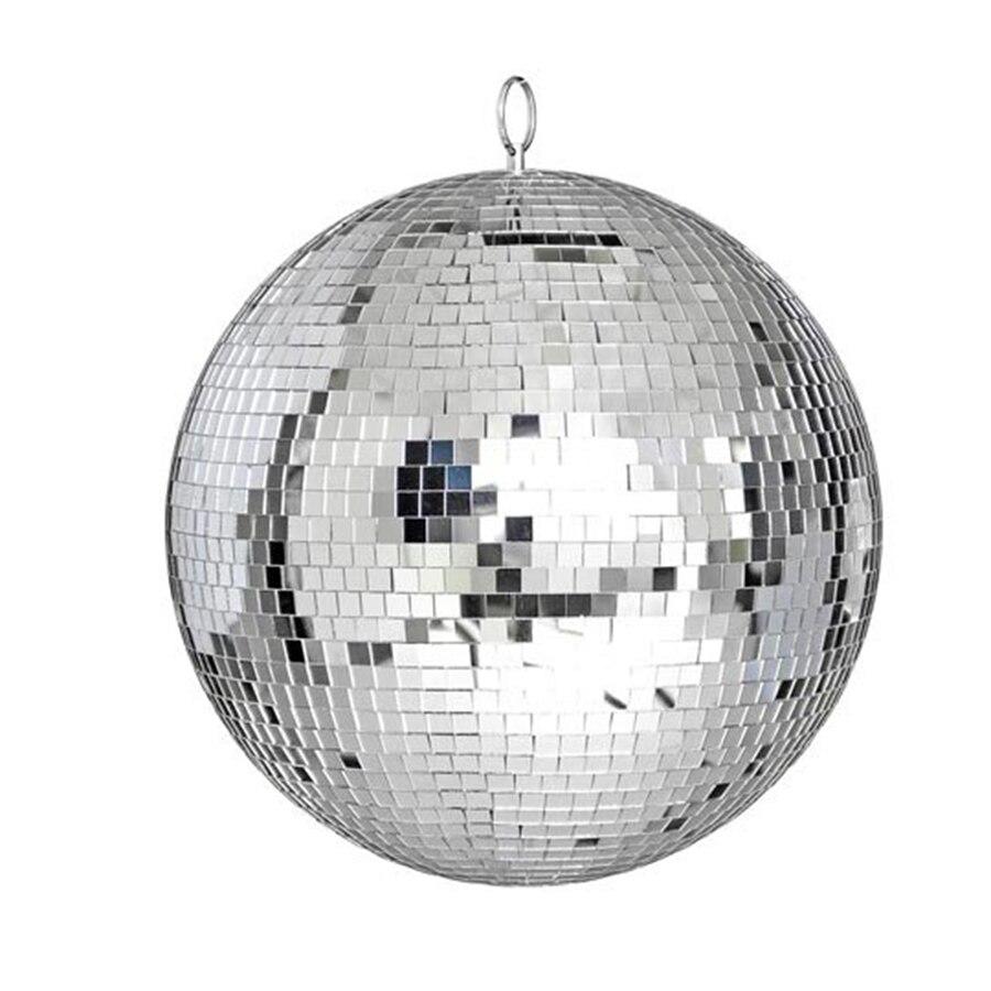 Thrisdar Dia25CM 30CM זכוכית מסתובב מראה דיסקו כדור בית מסיבת KTV בר חנות חג המולד רעיוני דיסקו כדור אור