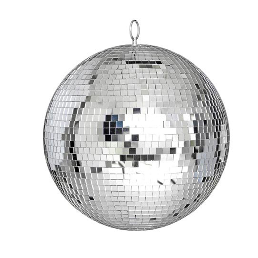 Thrisdar Dia25CM 30CM Glass Rotating Mirror Disco Ball Home Party KTV Bar Shop Holiday Christmas Reflective Disco Ball Light