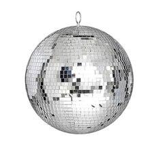 Thrisdar Dia25CM 30CM זכוכית מראה דיסקו כדור בית מסיבת KTV בר חנות חג המולד רעיוני דיסקו כדור אור