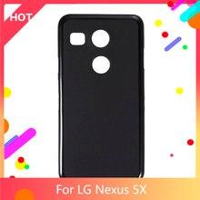 Nexus 5X чехол Матовая Мягкая силиконовая задняя накладка из ТПУ чехол для LG Nexus 5X Телефон Чехол тонкий противоударный