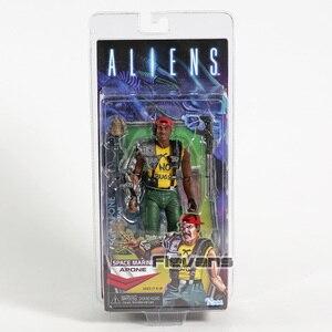 """Image 3 - NECA ALIENS Spazio Serpente Alien Scorpion Alien Marine Apone 7 """"Action Figure AVP Modello Collezione di Giocattoli"""