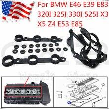 La nueva válvula junta protectora conjunto para BMW E46 E83 325i 525i 530i 330i X3 X5 3.0L M54 OE 11120030496, 11129070990, 11121437395, 11121726537