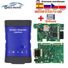 V 2019,04 Für GM MDI Mehrere WIFI/USB OBD OBD2 Diagnose Werkzeug mdi scan tool Mit Multi Sprache obd 2 Auto Scanner wie vxdiag