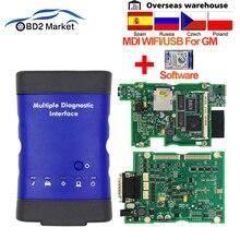V2019.04 For GM MDI Multiple WIFI/USB OBD OBD2 Diagnostic Tool mdi scan tool With Multi Language obd 2 Auto Scanner as vxdiag