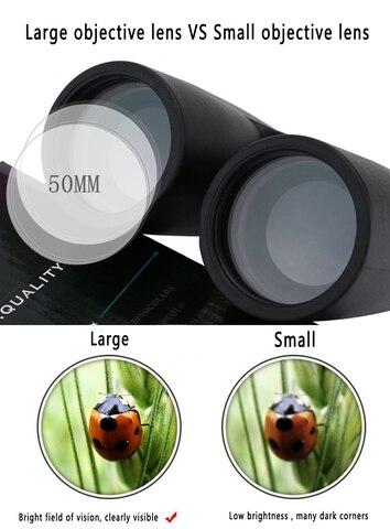 baixa luz visao noturna nitrogenio cheio binoculos