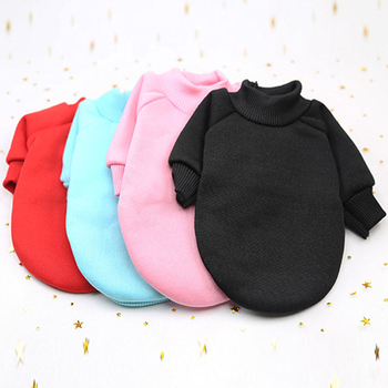 Dog Clothes Warm Puppy Outfit Pet Jacket Coat Winter Dog Clothes Soft Sweater Clothing For Small Dogs Chihuahua Pet Hoodies