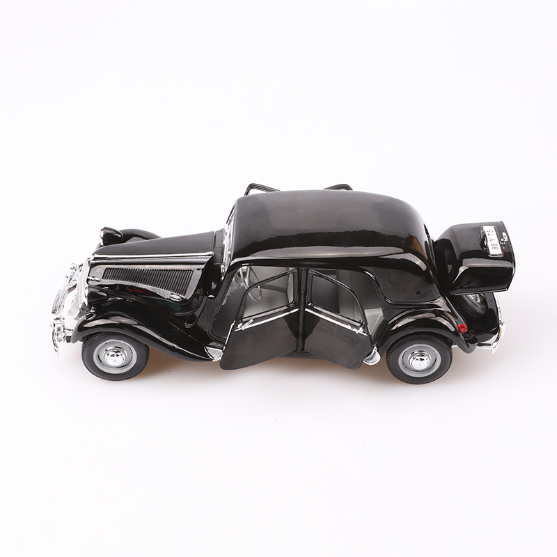 Maisto 1: 18 Model Alloy Car Model 1952 Citroen 15cv 6 Cyl Classic Car Model Light Models High Simulation Toy Gift Collection