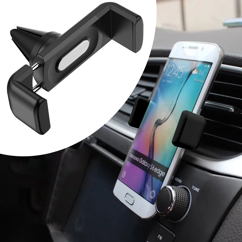 Universal Cellphone Holder Car Air Outlet Mount Clip for Mobile Phone Holder ABS Car Mount Phone Support Interior Accessories