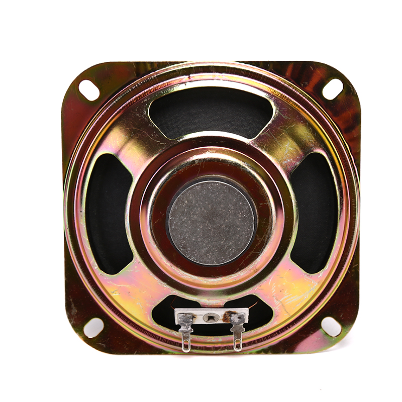 1pc 8ohm DIY Decorative Diy Arcade Cabinet 5W Speaker Protective Grille Circle With Protective Black Iron Mesh