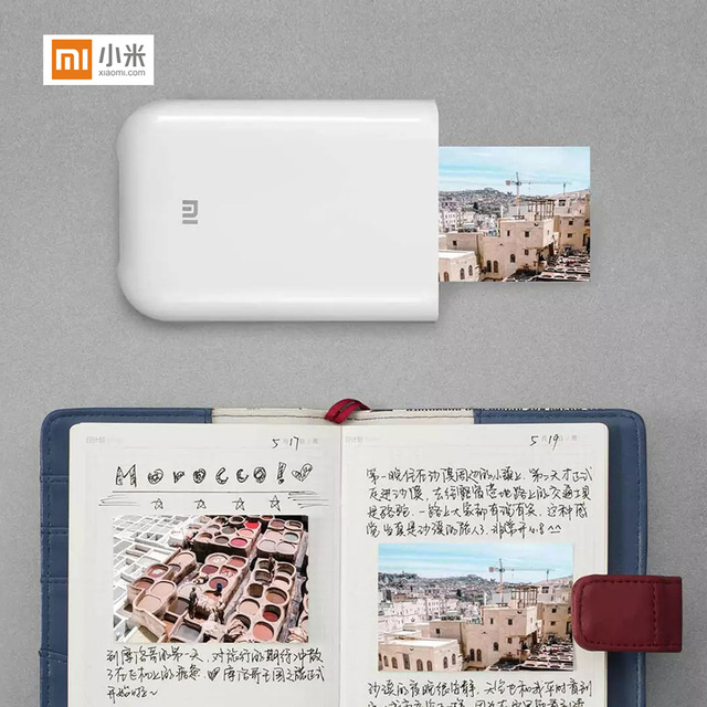 Global Version Xiaomi mijia AR Printer 300dpi Portable Photo Mini Pocket With DIY Share 500mAh picture pocket printer 2