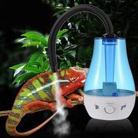 Dropship 3L/4L Large Capacity Reptile Humidifier Amphibians Crawler Box Fogger Atomizer Water Mist Dispenser Fog Maker EU/US