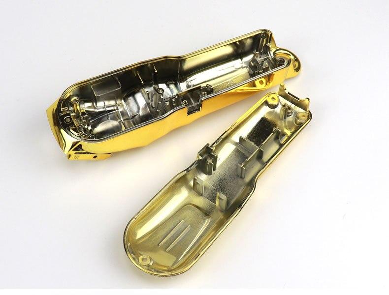 Diy portátil elétrico clippers modificado escudo personalidade