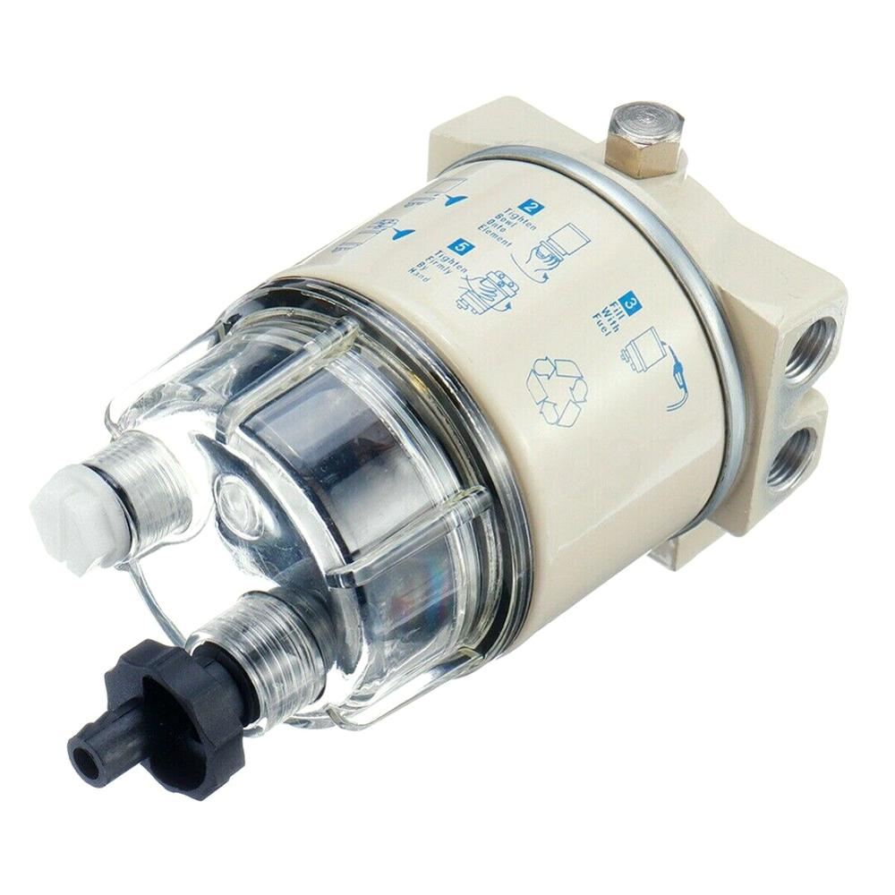 R12T Boat Marine Spin-on Fuel Filter Water Separator Lawn Mower Diesel Engine Boat Accessories