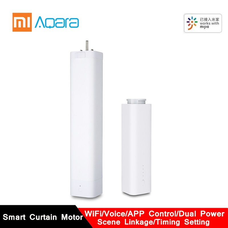 2019 AQara B1 Wireless Smart Motorized Electric Curtain Motor WiFi/Voice/App Remote Control Smart Home Curtain Motor
