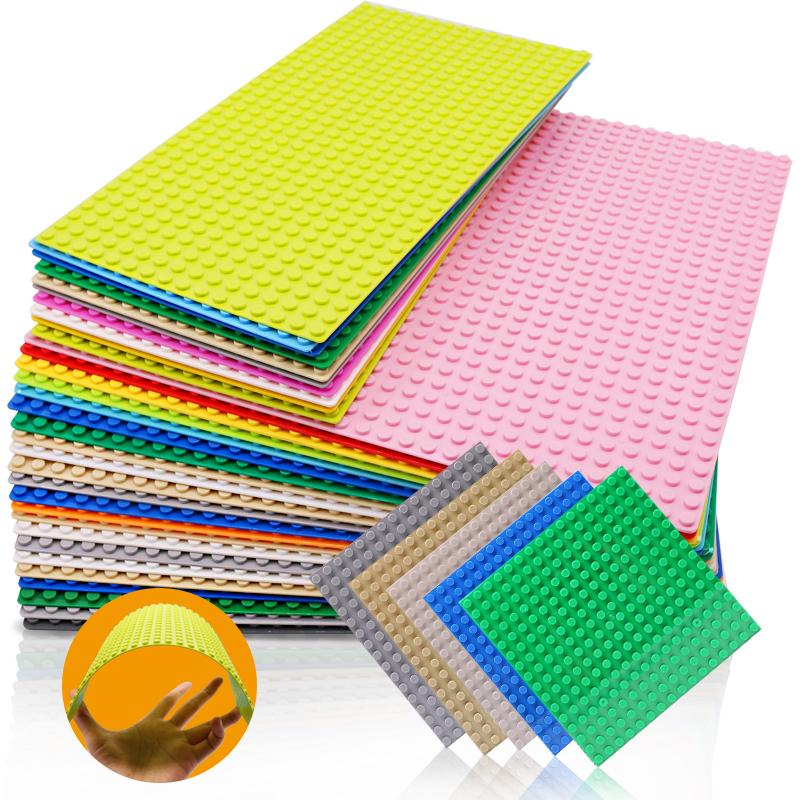 32*32 Dots Classic Base Plates Plastic Bricks Baseplates Building Toys City Building Blocks DIY Bricks Construction Toys Gift
