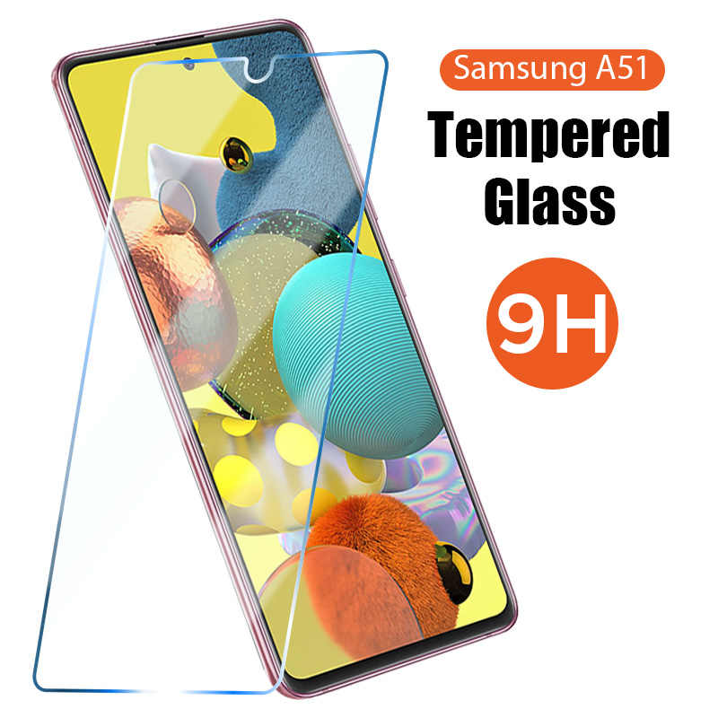Screen Protector on Galaxy A50 A70 A90 A40 A30 A10e A20e A30S A50S A20S Tempered Glass for Samsung A51 A71 A41 A31 A21 A11 A01