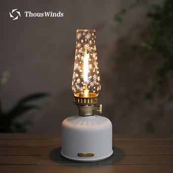 Thous Winds Spark Lantern Outdoor Camping lampa gazowa nastrojowe oświetlenie lampa kempingowa oświetlenie Lumiere lantern tanie i dobre opinie CN (pochodzenie) Brak w zestawie NONE Mieszanina gazów z izobutanem Metal manual