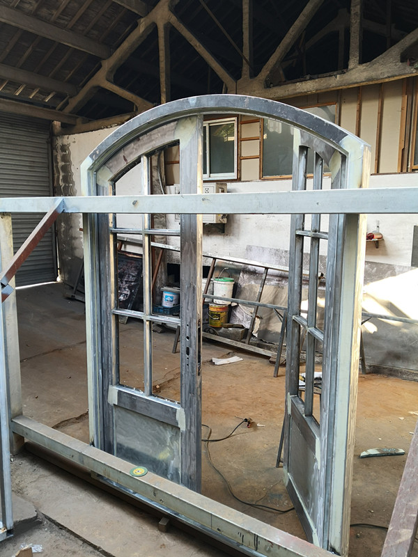 Shanghai Hench Brand China Factory 100% Custom Made Sale Australia Wrought Iron Double Doors
