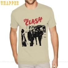 T-Shirts The Clash Short-Sleeve Boyfriend White for 3XL Corlorful Custom Valentine's