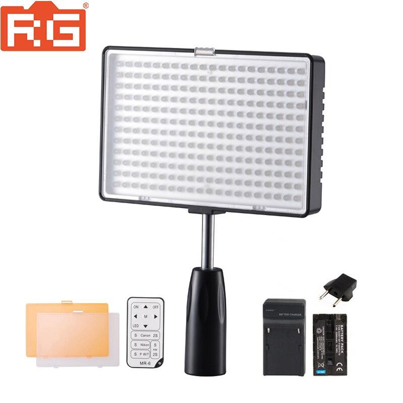 KM-240 240L 3200 k-5600 K светодиодный светильник для камеры с аккумулятором для Canon Nikon