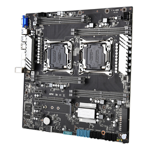 Image 4 - X99 scheda madre dual CPU LGA 2011 v3 v4 E ATX USB3.0 SATA3 VGA con dual Xeon scheda madre con slot per M.2 dual Giga LAN